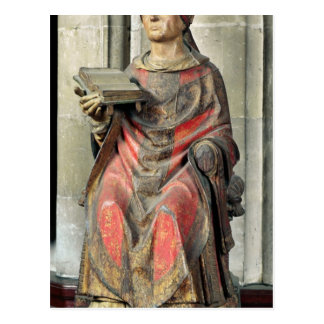 St. Germain  Bishop of Auxerre Postcard