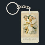 "St. Gianna Beretta Molla Catholic Mother Keychain<br><div class=""desc"">Saint Gianna Beretta Molla (4 October 1922 – 28 April 1962) was an Italian Roman Catholic pediatrician. St. Gianna refused an abortion and a hysterectomy while she was pregnant with her fourth child despite knowing that continuing the refusal could result in her own death which later occurred. Molla&#39;s medical career...</div>"