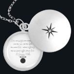 "St. Gianna Molla Quote Locket Necklace<br><div class=""desc"">St. Gianna Molla Quote Locket Necklace</div>"