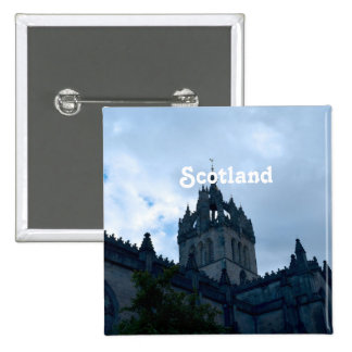 St Giles Cathedral 2 Inch Square Button