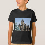 St. Giles Cathedral and David Hume Statue T-Shirt