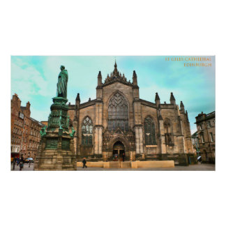 st giles cathedral edinburgh posters