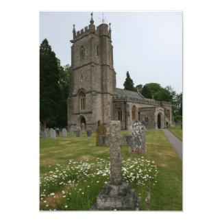 St Giles church, Bradford on Tone, Somerset, UK Card