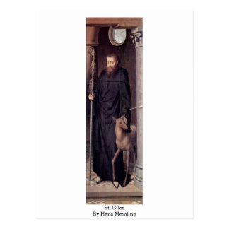 St Giles de Hans Memling Tarjeta Postal