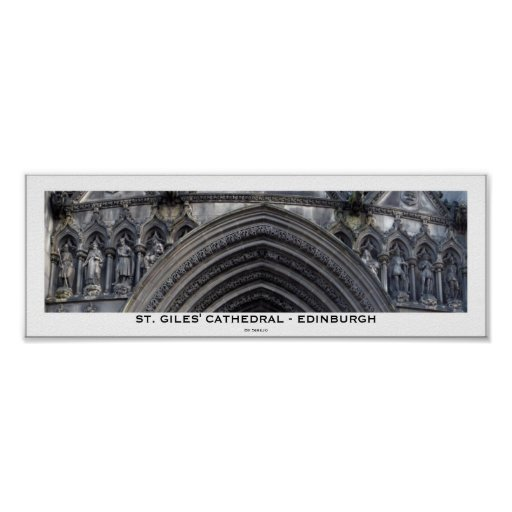 St_Gils_Cathedral, Posters
