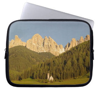 St Giovanni, Val di Funes, Dolomites, Italy Laptop Sleeve