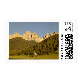 St Giovanni, Val di Funes, Dolomites, Italy Stamps