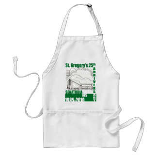St. Gregory 25th Anniversary Adult Apron
