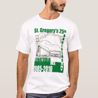 St. Gregory 25th Front T-Shirt