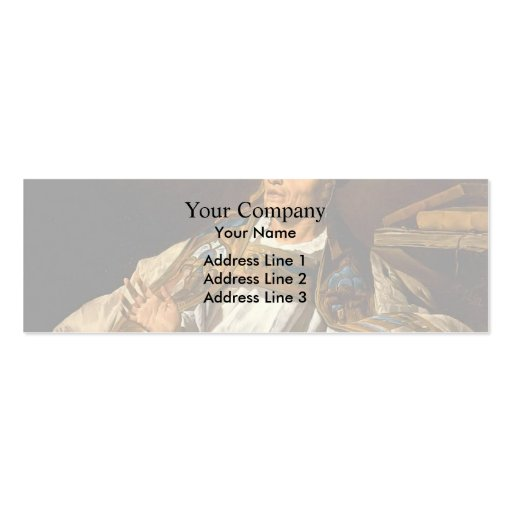 St. Gregory by Matthias Stom Business Card Templates
