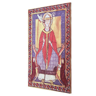 St. Gregory Canvas Print