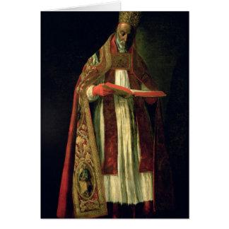 St Gregory el grande Felicitación