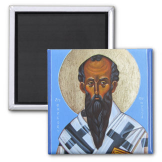 St Gregory of Nyssa Orthodox Icon Magnet