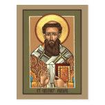 St. Gregory Palamas Prayer Card Postcards