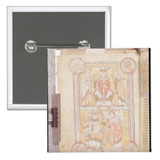 St. Gregory the Great 2 2 Inch Square Button