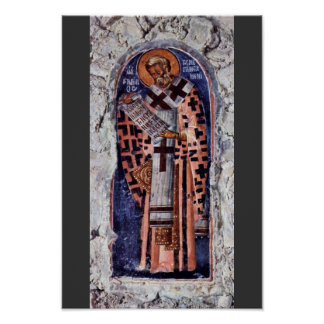 St. Gregory The Great By Meister Der Aphentico-Kir Poster