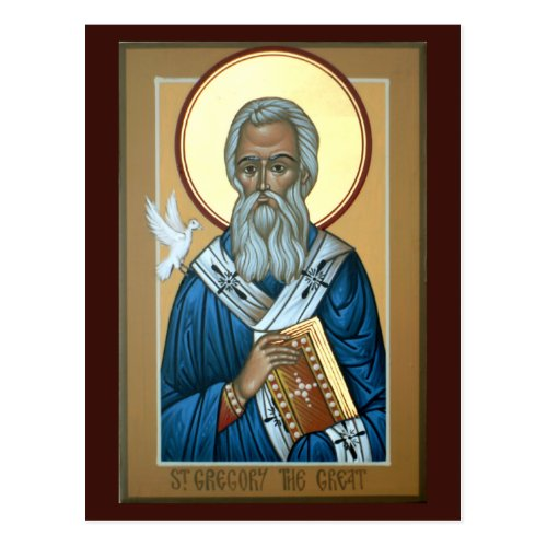 St Gregory the Great Prayer Card