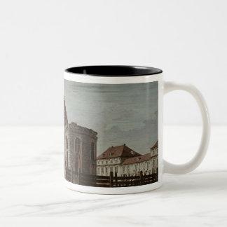 St. Hedwig, Cathedral, Berlin Two-Tone Coffee Mug