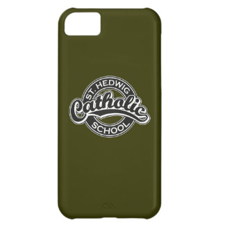 St. Hedwig Catholic School Black and White iPhone 5C Covers