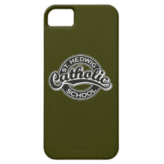 St. Hedwig Catholic School Black and White iPhone 5 Cover