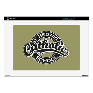 St. Hedwig Catholic School Black and White Skin For Laptop