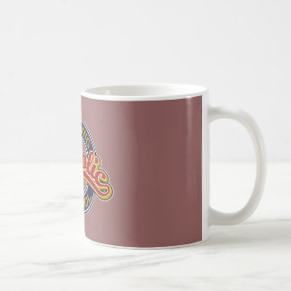 St. Hedwig Catholic School Red on Blue Coffee Mug