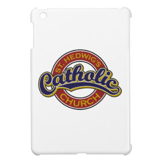 St. Hedwig's Catholic Church Blue on Red Case For The iPad Mini