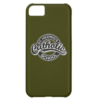 St. Hedwig's Catholic School Black and White Cover For iPhone 5C
