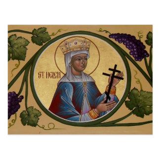 St. Helen Prayer Card Postcard