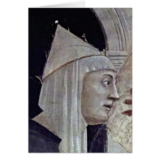 St.Helena By Piero Della Francesca Greeting Cards