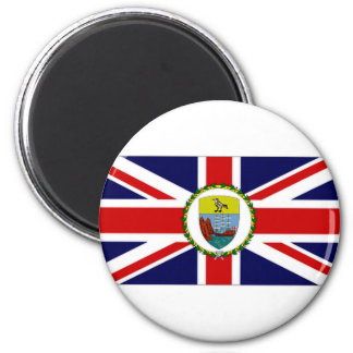 St Helena Dependencies Governor Flag 2 Inch Round Magnet