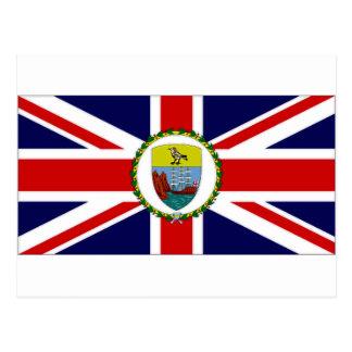 St Helena Dependencies Governor Flag Postcard