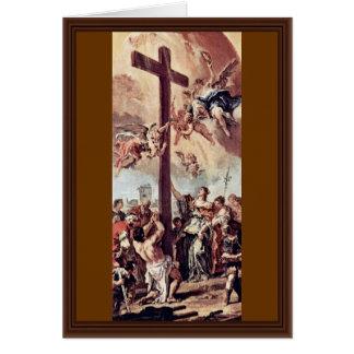 St. Helena encontró el proyecto cruzado santo de R Tarjeta