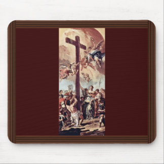 St. Helena Found The Holy Cross Draft By Ricci Mouse Pad