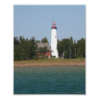 St. Helena Island Lighthouse Poster