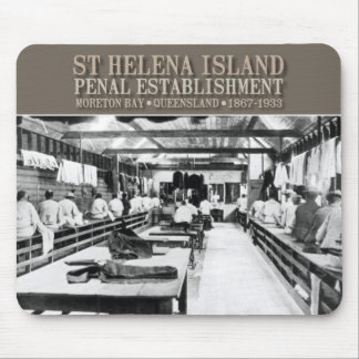 St Helena Island mousepad