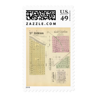 St. Helena, Nebraska Stamp