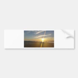 St. Helena Sunset. Bumper Sticker