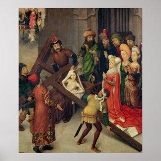 St. Helena y el milagro de la cruz verdadera Póster