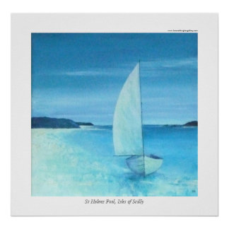 St Helens Pool, Isles of Scilly Poster
