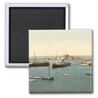 St Heliers Harbour, Jersey, England Magnets
