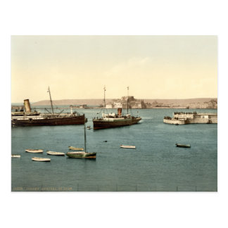 St Heliers Harbour, Jersey, England Postcard