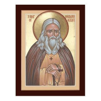St. Herman de la tarjeta del rezo de Alaska Postal