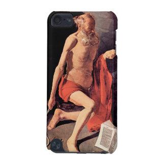 St. Hieronymous by Georges de La Tour iPod Touch (5th Generation) Cases