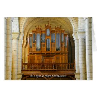 St-Hilario-le-Magnífico en Poitiers Tarjeta De Felicitación