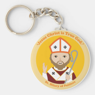 St. Hilary of Poitiers Keychain