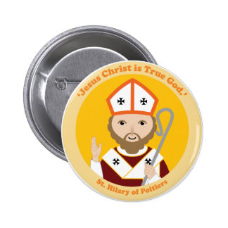 St. Hilary of Poitiers Pinback Button