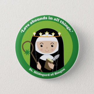 St. Hildegard Button