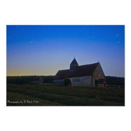 St Huberts Church Photo Print