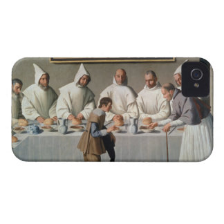 St. Hugh of Cluny (1024-1109) in the Refectory of iPhone 4 Cover